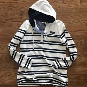 LL Bean Striped Pullover - Like New